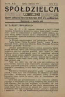 Spółdzielca Lubelski. R. 3, nr 31 (1919)