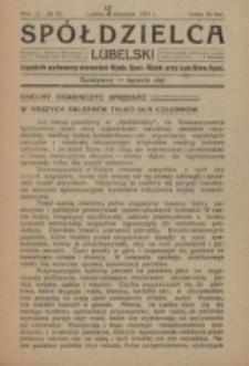 Spółdzielca Lubelski. R. 3, nr 33 (1919)