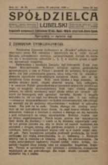 Spółdzielca Lubelski. R. 3, nr 35 (1919)