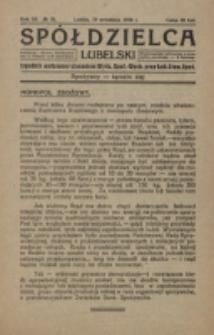 Spółdzielca Lubelski. R. 3, nr 37 (1919)