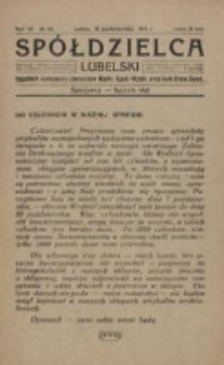 Spółdzielca Lubelski. R. 3, nr 41 (1919)