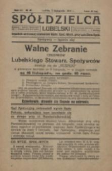 Spółdzielca Lubelski. R. 3, nr 45 (1919)