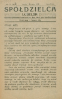 Spółdzielca Lubelski. R. 4, nr 1 (1920)