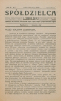 Spółdzielca Lubelski. R. 4, nr 7 (1920)