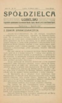 Spółdzielca Lubelski. R. 4, nr 11 (1920)