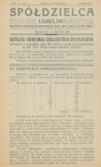 Spółdzielca Lubelski. R. 4, nr 12 (1920)