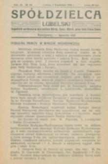 Spółdzielca Lubelski. R. 4, nr 14 (1920)