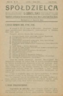Spółdzielca Lubelski. R. 4, nr 19 (1920)