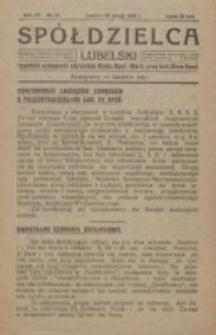 Spółdzielca Lubelski. R. 4, nr 22 (1920)