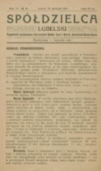 Spółdzielca Lubelski. R. 4, nr 35 (1920)