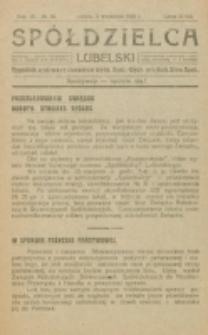 Spółdzielca Lubelski. R. 4, nr 36 (1920)
