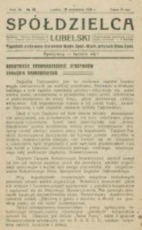 Spółdzielca Lubelski. R. 4, nr 38 (1920)
