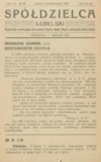 Spółdzielca Lubelski. R. 4, nr 40 (1920)