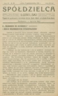 Spółdzielca Lubelski. R. 4, nr 41 (1920)
