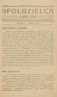 Spółdzielca Lubelski. R. 5, nr 3 (1921)