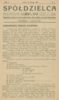 Spółdzielca Lubelski. R. 5, nr 7 (1921)