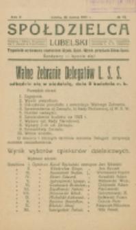 Spółdzielca Lubelski. R. 5, nr 13 (1921)