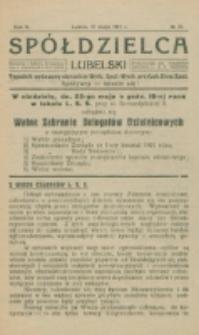 Spółdzielca Lubelski. R. 5, nr 21 (1921)