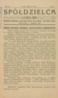 Spółdzielca Lubelski. R. 5, nr 28 (1921)