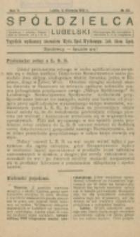Spółdzielca Lubelski. R. 5, nr 32 (1921)