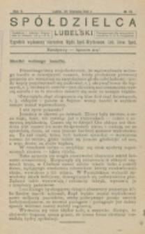 Spółdzielca Lubelski. R. 5, nr 35 (1921)