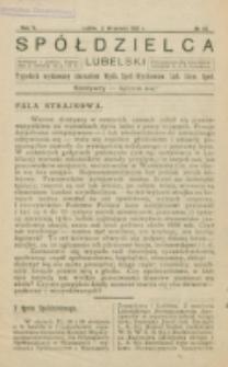Spółdzielca Lubelski. R. 5, nr 36 (1921)