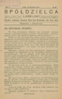 Spółdzielca Lubelski. R. 5, 41 (1921)