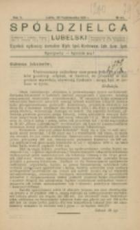 Spółdzielca Lubelski. R. 5, nr 44 (1921)