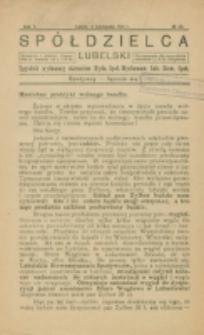Spółdzielca Lubelski. R. 5, nr 46 (1921)