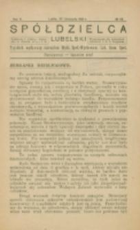 Spółdzielca Lubelski. R. 5, nr 48 (1921)