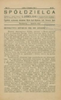 Spółdzielca Lubelski. R. 5, nr 50 (1921)