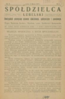 Spółdzielca Lubelski. R. 6, nr 12 (1922)