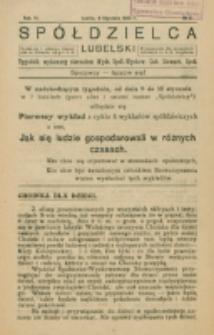 Spółdzielca Lubelski. R. 6, nr 2 (1922)