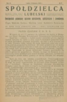 Spółdzielca Lubelski. R. 6, nr 17 (1922)