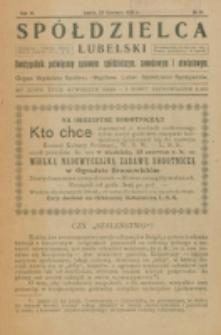Spółdzielca Lubelski. R. 6, nr 18 (1922)