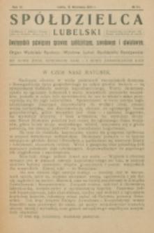 Spółdzielca Lubelski. R. 6, nr 24 (1922)