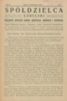 Spółdzielca Lubelski. R. 6, nr 27 (1922)