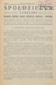 Spółdzielca Lubelski. R. 6, nr 28 (1922)