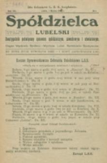 Spółdzielca Lubelski. R. 8, nr 1 (1924)