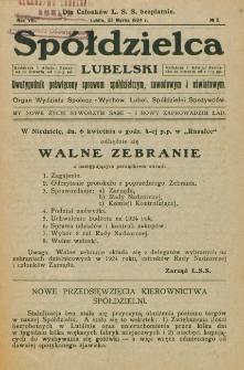 Spółdzielca Lubelski. R. 8, nr 2 (1924)
