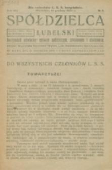 Spółdzielca Lubelski. R. 8, nr 5 (1924)