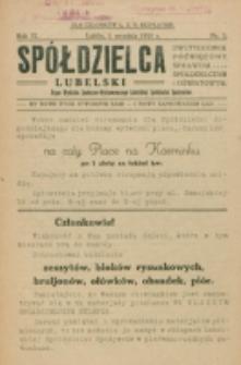 Spółdzielca Lubelski. R. 9, nr 3 (1925)