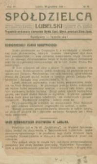 Spółdzielca Lubelski. R. 4, nr 51 (1920)