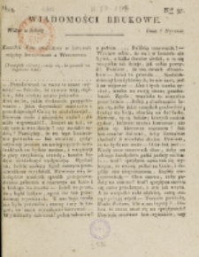 Wiadomości Brukowe. Nr 57 (1818)