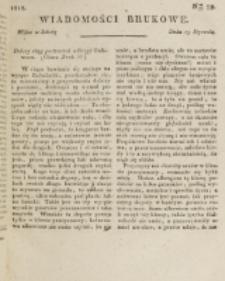 Wiadomości Brukowe. Nr 59 (1818)