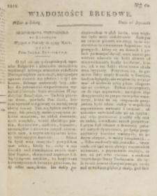 Wiadomości Brukowe. Nr 60 (1818)