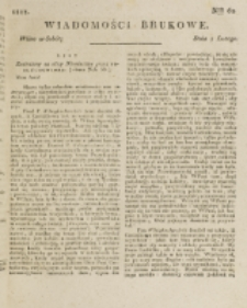 Wiadomości Brukowe. Nr 62 (1818)