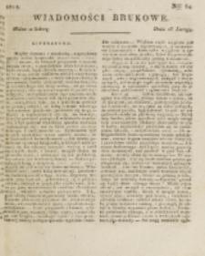 Wiadomości Brukowe. Nr 64 (1818)