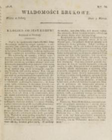 Wiadomości Brukowe. Nr 66 (1818).