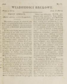 Wiadomości Brukowe. Nr 67 (1818).